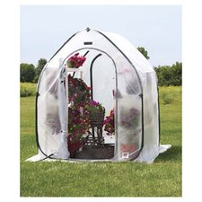 "5.5"" H x 5.0' W x 5.0' D PlantHouse Polyethylene Mini Greenhouse"