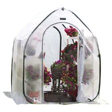 5 Ft. W x 5 Ft. D Polyethylene Mini Greenhouse