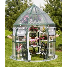 Conservatory 8.5' Round Clear PVC Greenhouse