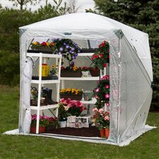 Orchidhouse 9' x 9' Polyethylene Greenhouse