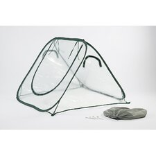 "SeedHouse 24"" x 24"" Clear PVC Mini Greenhouse"
