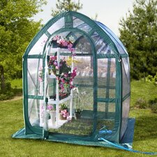 Planthouse 5 Ft. W x 5 Ft. D Polyethylene Greenhouse