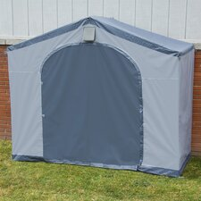 StorageHouse 6' W x 2' D Portable Shed