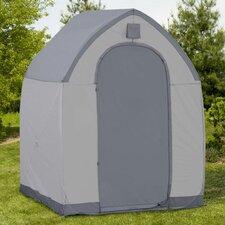 StorageHouse 5' W x 5' D Plastic Poratable Shed