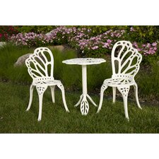 Twin Butterfly Bistro 3 Piece Set