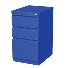 3-Drawer Mobile Pedestal File