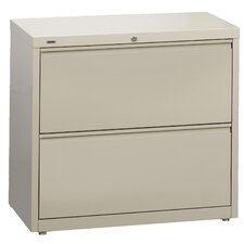 "<strong>CommClad</strong> 36"" Wide 2 Drawer HL10000 Series Lateral File Cabinet"