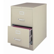2-Drawer Commercial Letter Size  File Cabinet