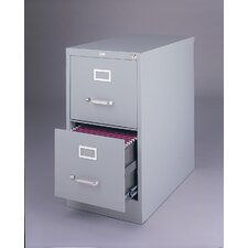 "<strong>CommClad</strong> 25"" Deep Commercial 2 Drawer Letter Size High Side Vertical File Cabinet"
