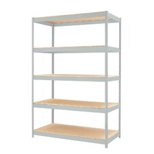 "<strong>CommClad</strong> 1500 Series 72"" H Five Shelf Shelving Unit"