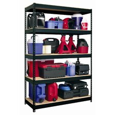 "<strong>CommClad</strong> Iron Horse Rivet 72"" H x 48"" W Five Shelf Shelving Unit"