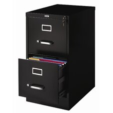 "22"" Deep 2-Drawer Letter-Size Vertical File"