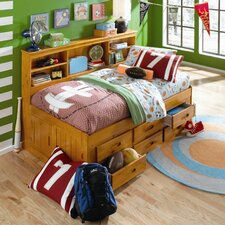 Bookcase Daybed with Drawers
