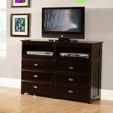 6 Drawer Media Chest