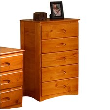 <strong>Discovery World Furniture</strong> Weston 5 Drawer Chest