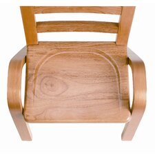 "13"" Wood Classroom Stacking Chair"