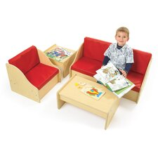 <strong>Angeles</strong> Value Line 4 Piece Living Room Set