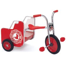 SilverRider Fire Truck Cargo Tricycle