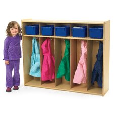 <strong>Angeles</strong> Value Line Toddler 5-Section Locker