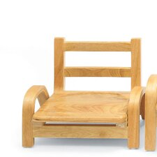 "5"" Wood Classroom Stacking Chair"
