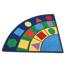 Geometric Radius Carpet Area Rug