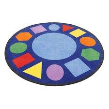 Geometric Circle Carpet Area Rug