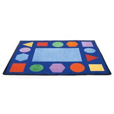 Geometric Shapes Rectangle Carpet