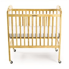 Adjustable Fixed-Side Crib