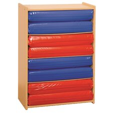 Value Line 4-Section Rest Mat Storage