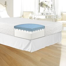 "10"" Gel Memory Foam Mattress"