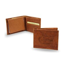 NCAA Embossed Billfold Wallet