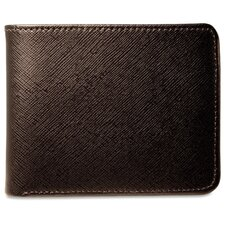 <strong>Jack Georges</strong> Prestige Bi-Fold with Flap Men's Wallet