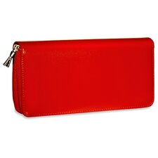 <strong>Jack Georges</strong> Milano Zippered Clutch Women's Wallet