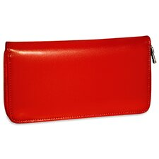 <strong>Jack Georges</strong> Milano Zippered Checkbook/Travel Women's Wallet