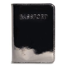 Patent Leather Passport Cover