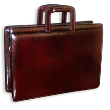Sienna Double Gusset Zip Top Briefcase