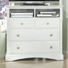 <strong>Najarian Furniture</strong> Palazzo 3 Drawer Media Chest