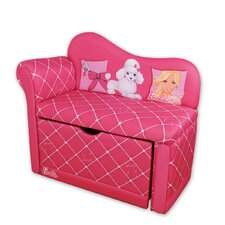 <strong>Najarian Furniture</strong> Barbie Glam Storage Kid's Chaise Lounge