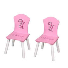 <strong>Najarian Furniture</strong> Missy Couture Kid's Desk Chair (Set of 2)