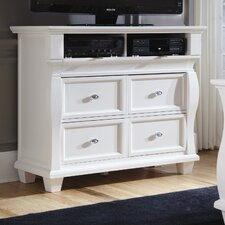 Monaco 4 Drawer Media Chest
