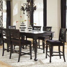 <strong>Najarian Furniture</strong> Monaco 6 Piece Counter Height Dining Set