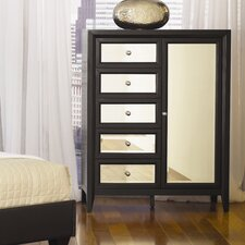 <strong>Najarian Furniture</strong> Reflections 5 Drawer Gentleman's Chest