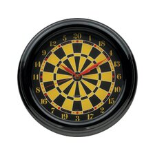 "Novelty Items 14"" Darts Wall Clock"