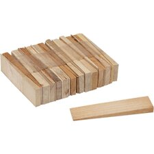 Table Parts and Repair Hardwood Shims (Set of 25)