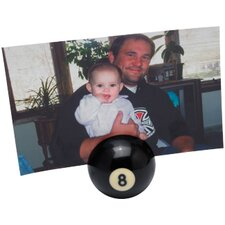 Novelty Items Eight-Ball Photo/Business Card Holder