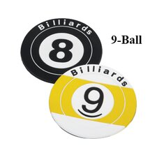 Novelty Items Nine Ball Coaster