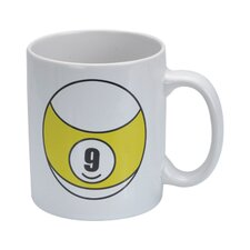 CueStix Novelty Items 9 Ball Coffee Mug