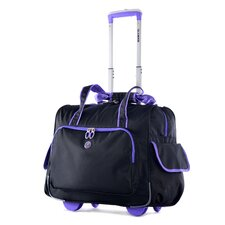 "Deluxe Fashion 14"" Overnighter Suitcase"