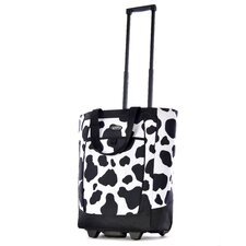Fashion Cow Rolling Shopping Tote