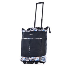 Flower Rolling Shopping Tote